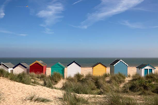 Beach Huts, Southwold, East Anglia (XXXL) stock photo