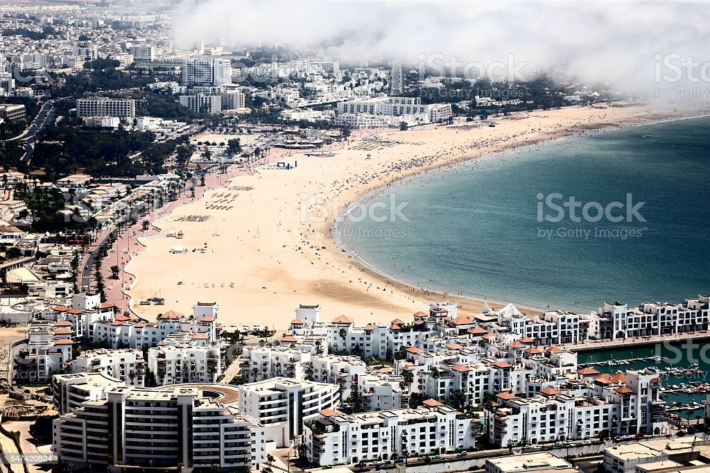Beach in Agadir foto