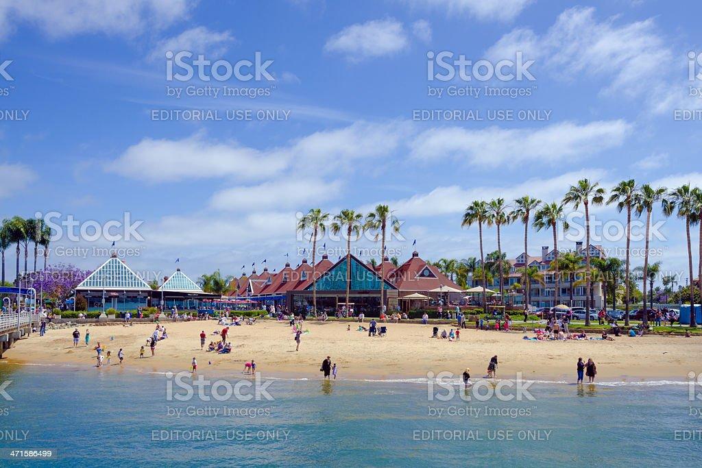 Beach in Coronado, CA royalty-free stock photo