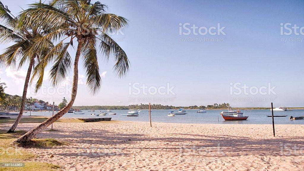 Beach in Iacare stock photo