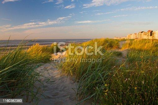 Beach in Knokke, Belgium