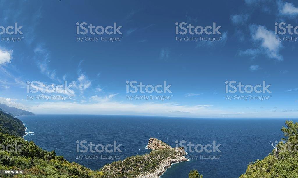 Beach in Majorca royalty-free stock photo