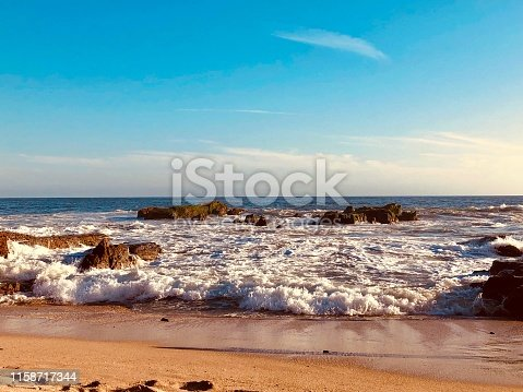 Warm and beautiful photo of a beach in Mazatlan, Sinaloa