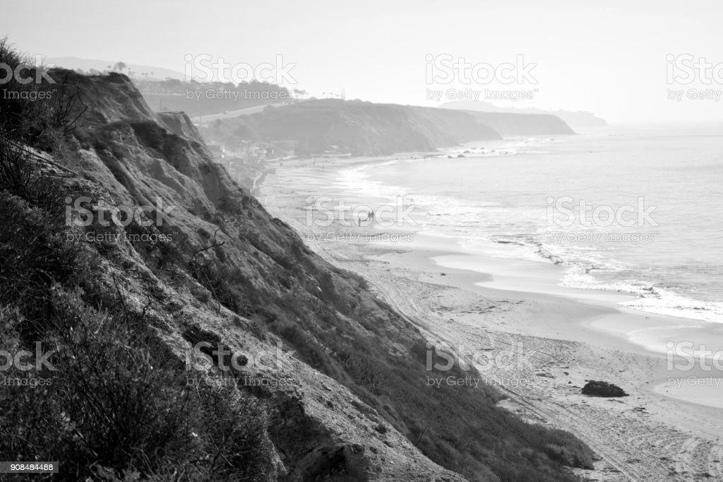 A Beach in Orange County stock photo