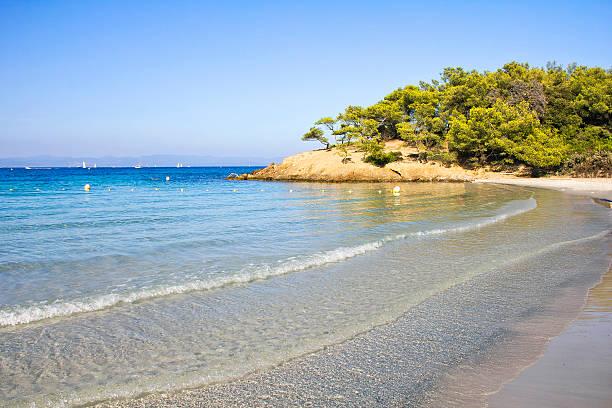 Beach in Porquerolles, French Riviera
