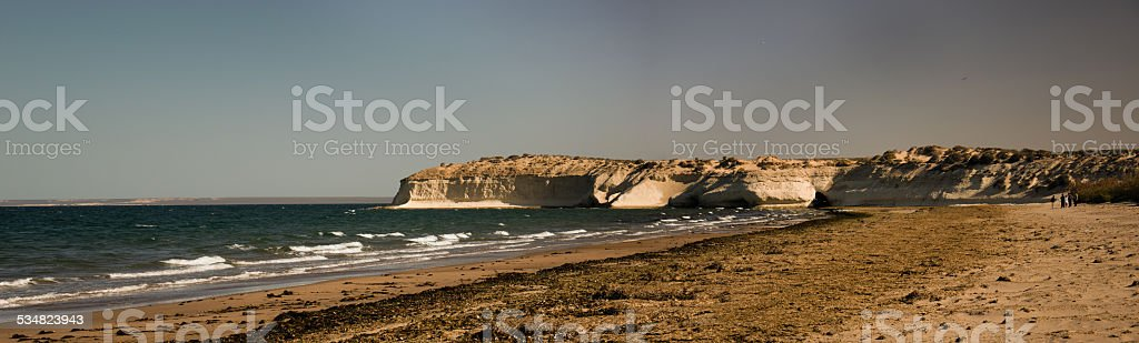Playa de puerto madryn patagonia, argentina - foto de stock
