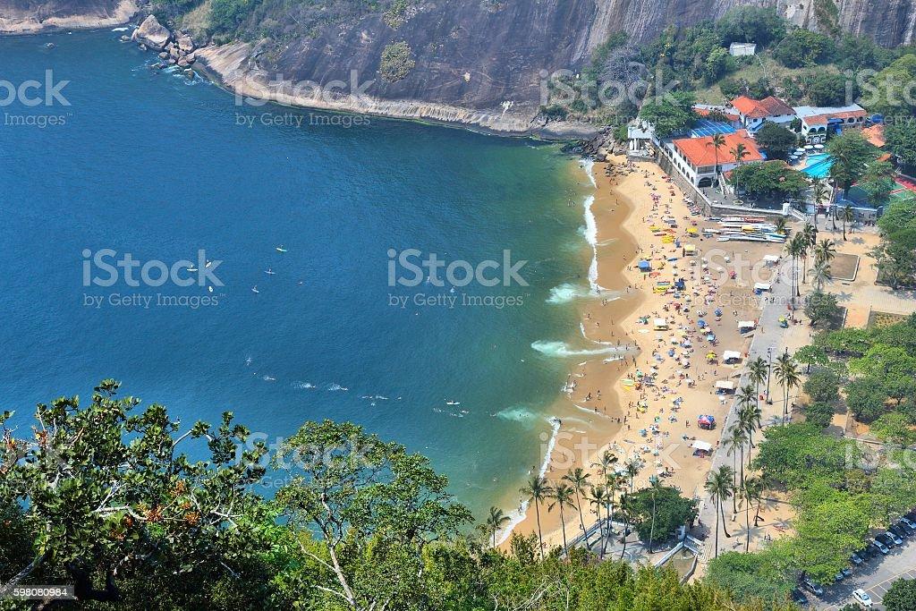 Beach in Rio stock photo