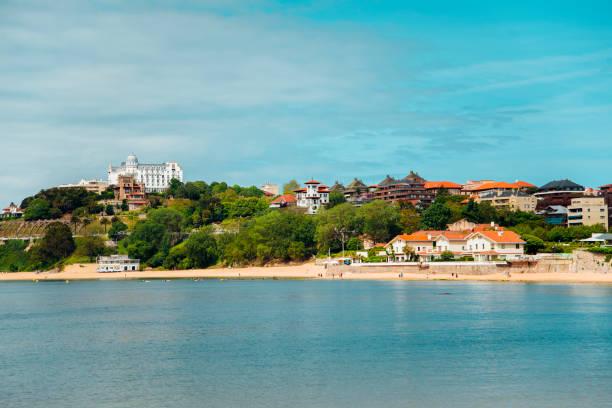 Beach in Santander, Spain A beautiful beach in Santander, Spain santander spain stock pictures, royalty-free photos & images