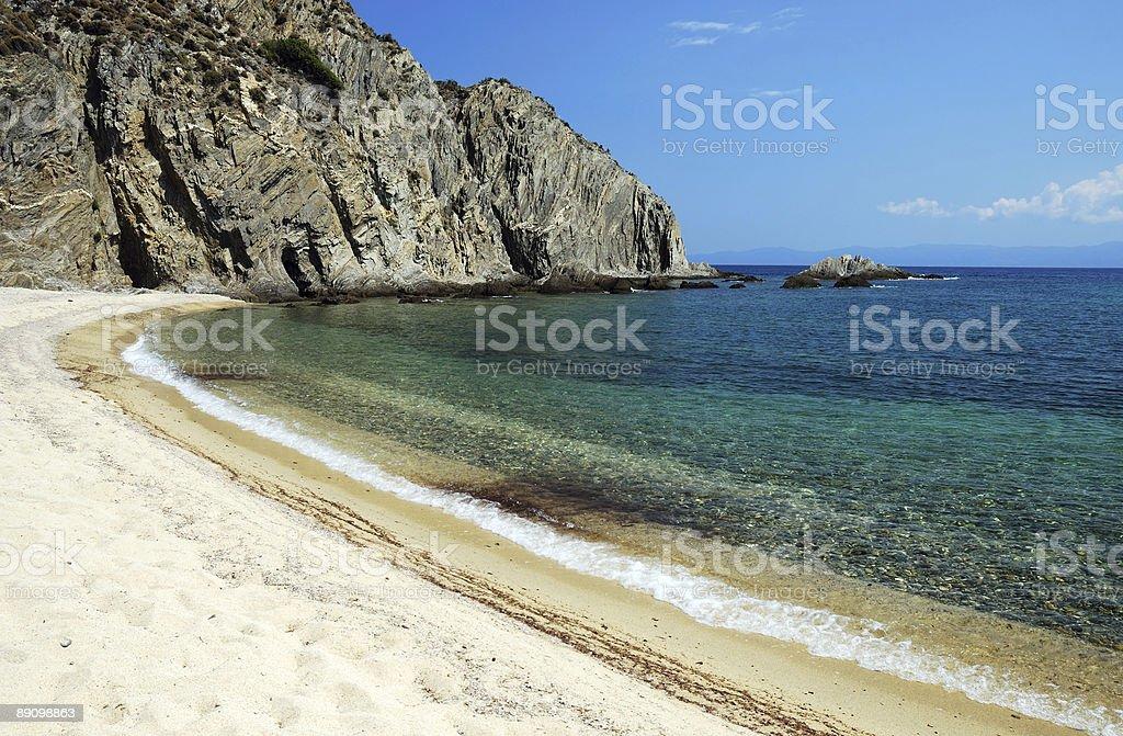 Strand im Sommer Lizenzfreies stock-foto