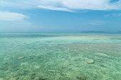 ビーチで竹富島日本、沖縄