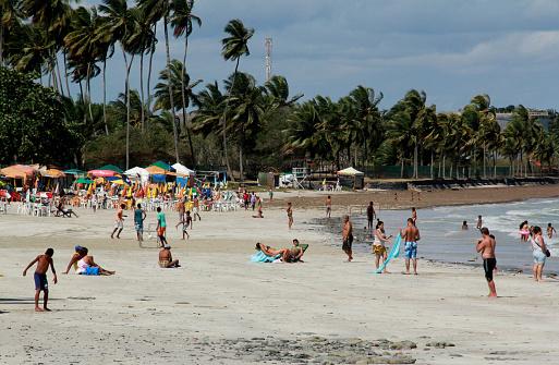 beach in the city of madre de deus