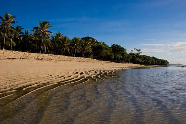 Beach in Tiwi, Kenya coast, Africa, near Mombasa stock photo