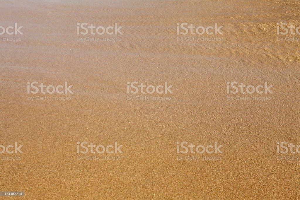 Beach in Zahara de los Atunes, Cadiz stock photo