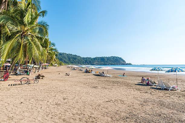 Beach Jaco - pacific coast of Costa Rica