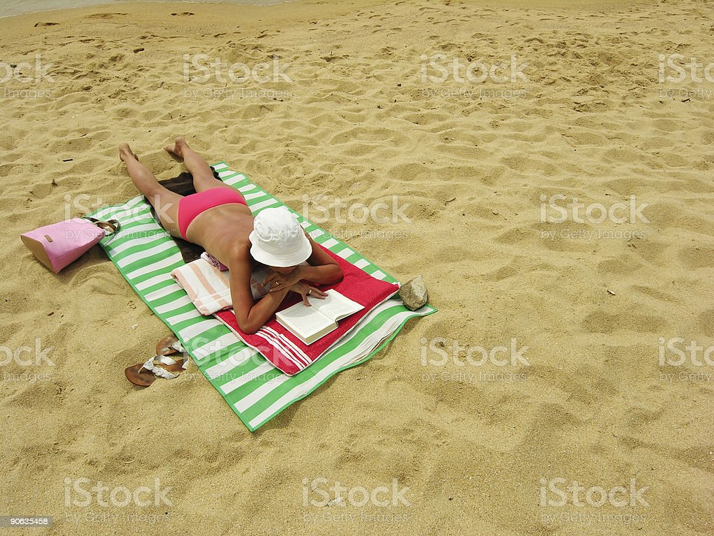 Beach Lady royalty-free stock photo