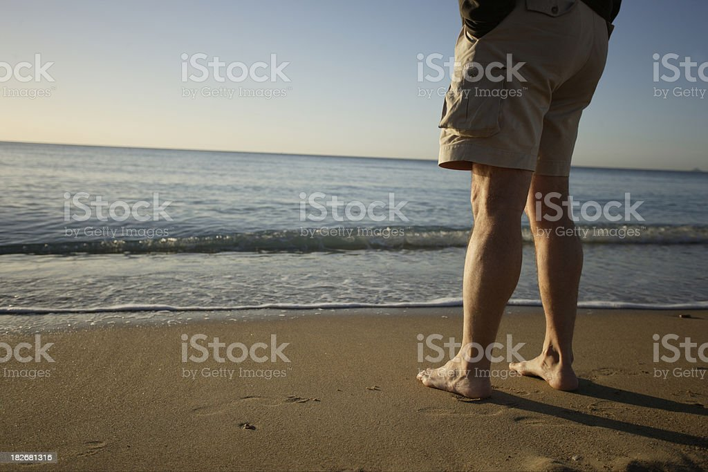 Beach Legs 2 royalty-free stock photo