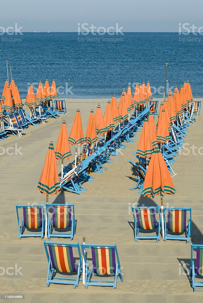 beach lidos royalty-free stock photo