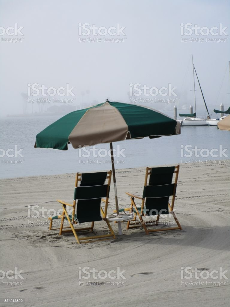 Beach life stock photo