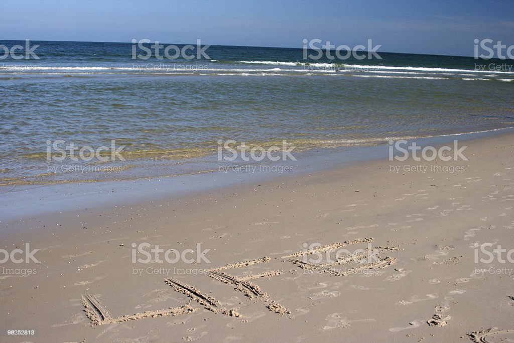 Beach Life royalty-free stock photo