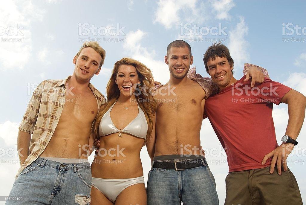 Beach Lifestyle royalty-free stock photo