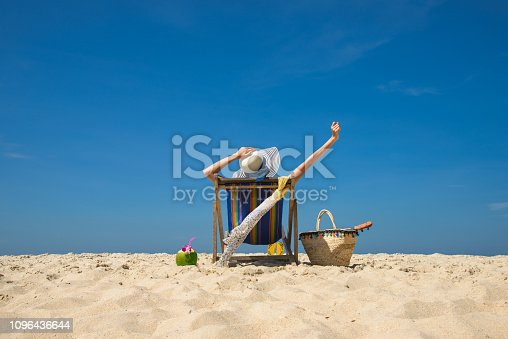 istock Beach Lover 1096436644