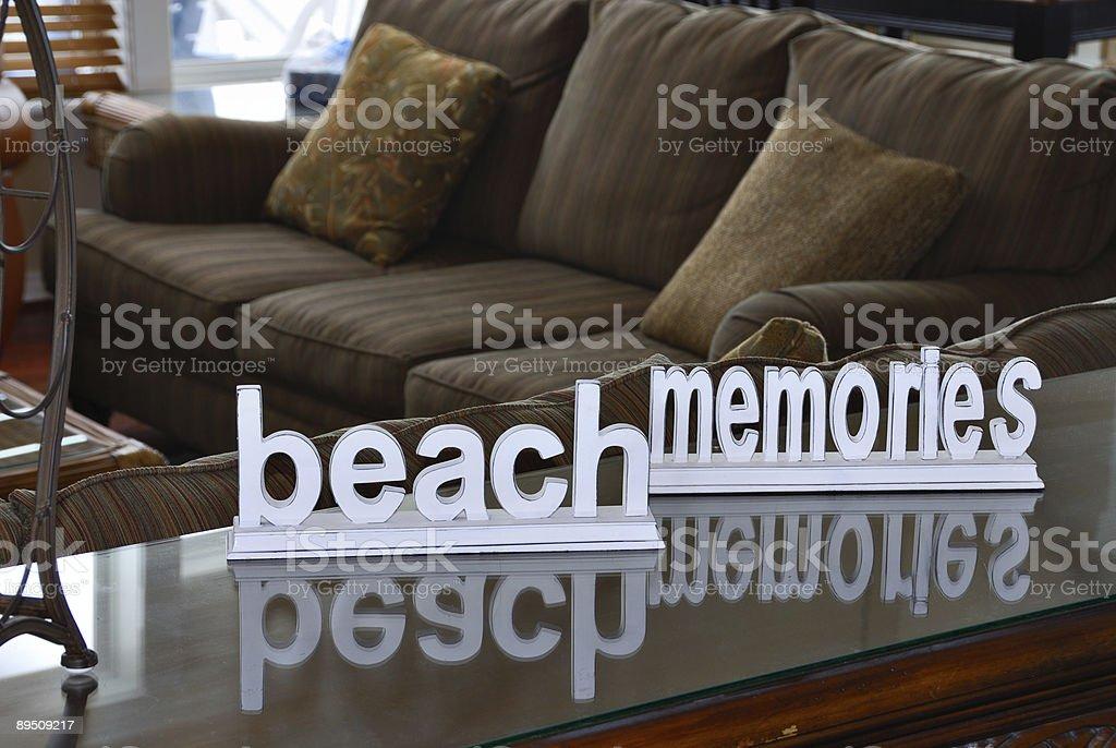 Beach Memories royalty-free stock photo