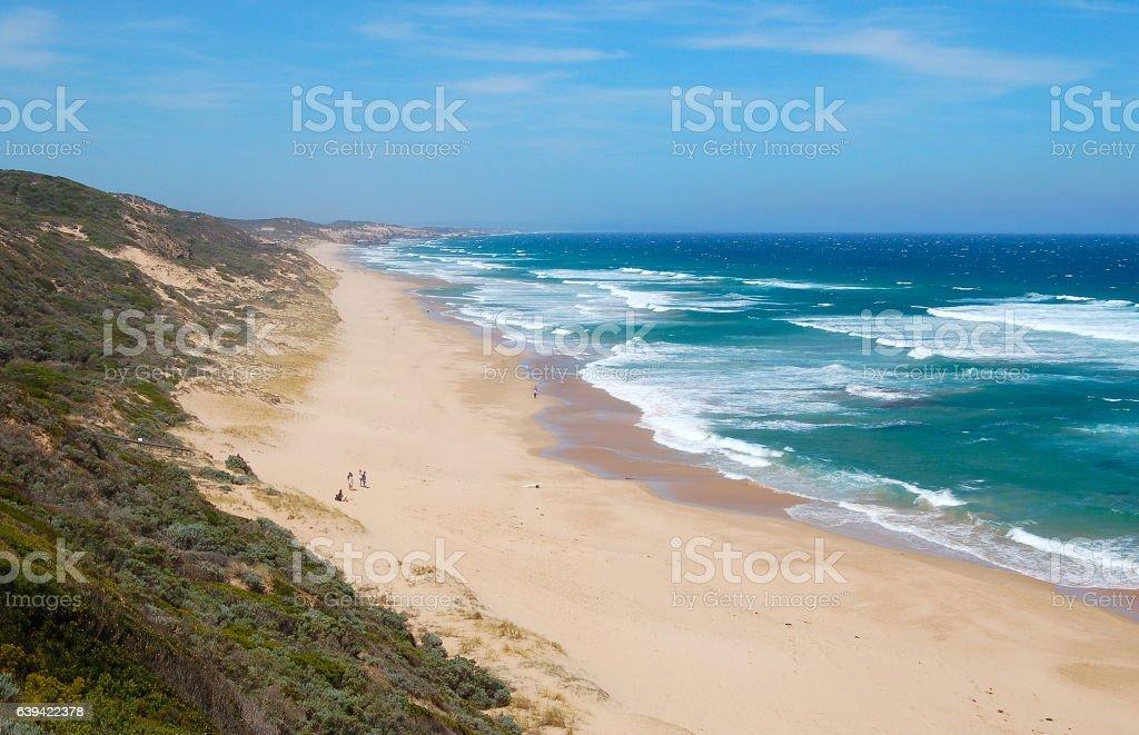 Beach - Mornington Peninsula stock photo