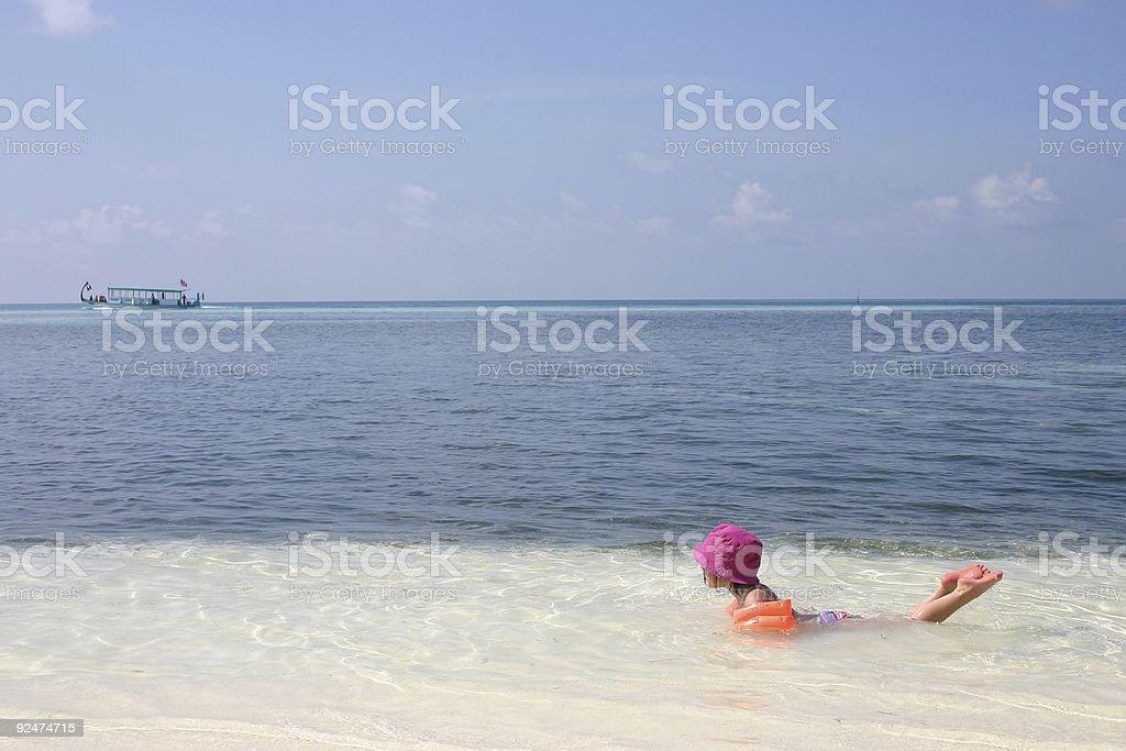 n Malediven Strand Lizenzfreies stock-foto