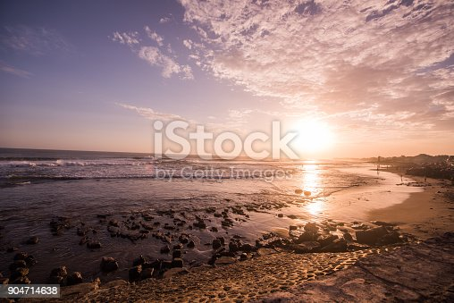 istock Beach nature at sunrise. 904714638