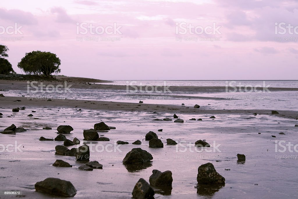 beach near Brisbane/Australia royalty-free stock photo