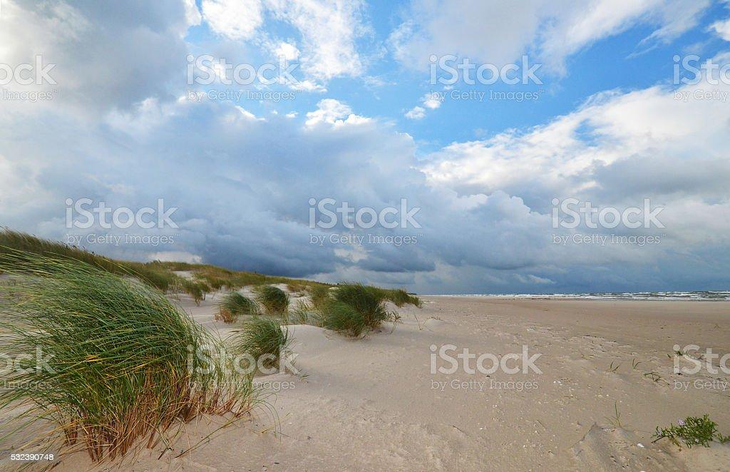 Beach near Liepaja, Latvia, stock photo