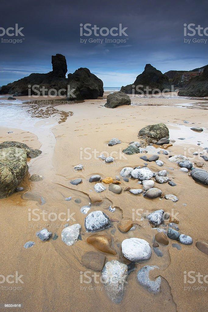 Spiaggia di Bakio foto stock royalty-free