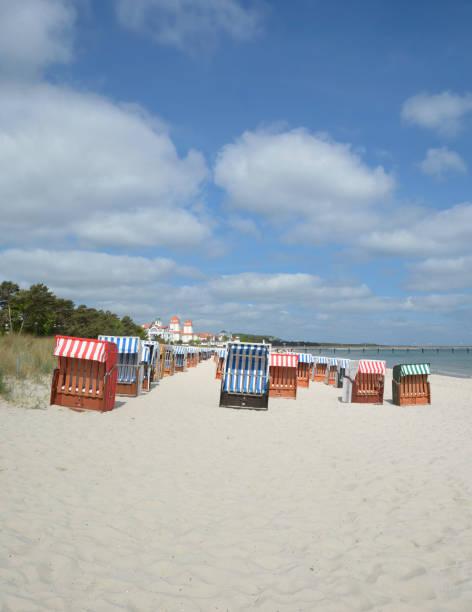 Strand von Binz, Rügen, Baltic Sea, Mecklenburg-Vorpommern, Deutschland – Foto