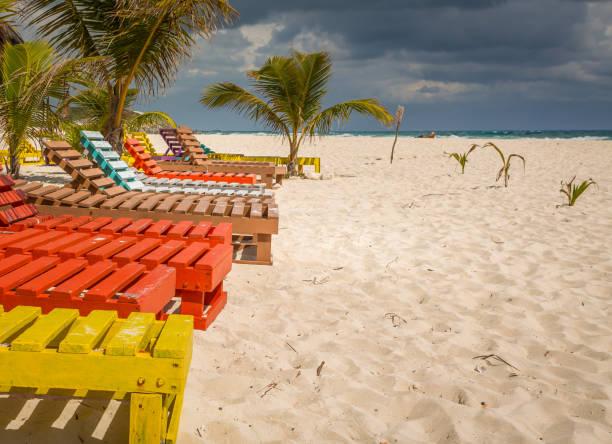 Strand von Chen Rio, in Cozumel, Mexiko. – Foto