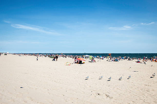 Beach of Coney Islands, New York, United States – Foto