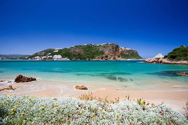 beach of Knysna, South Africa stock photo