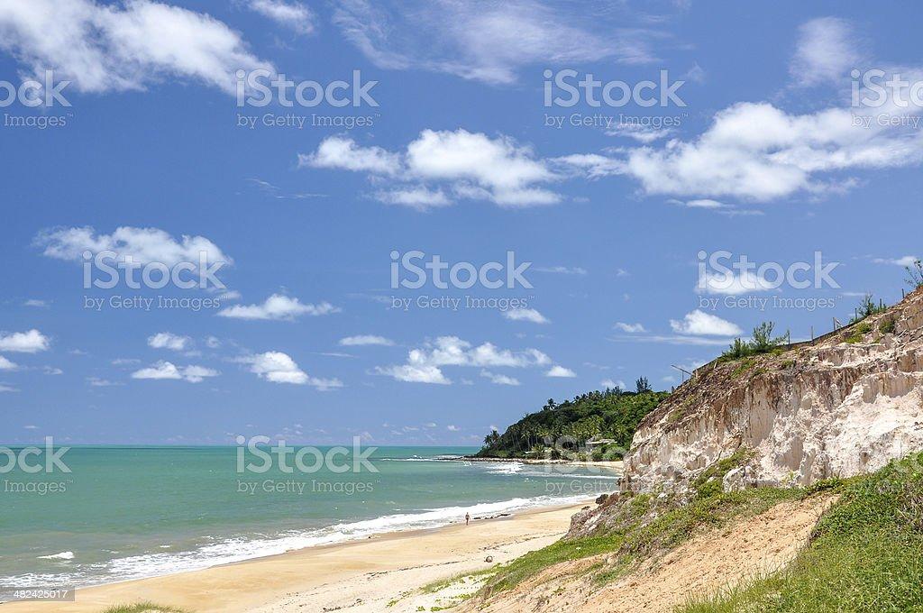 Beach of Pipa, Natal (Brazil) stock photo