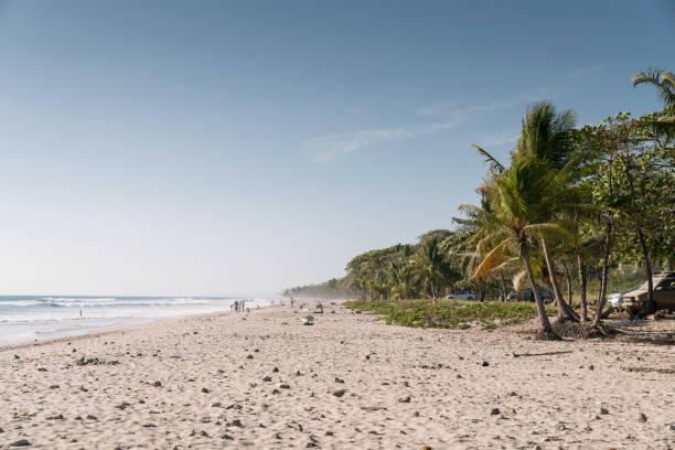 Beach of Santa Teresa stock photo