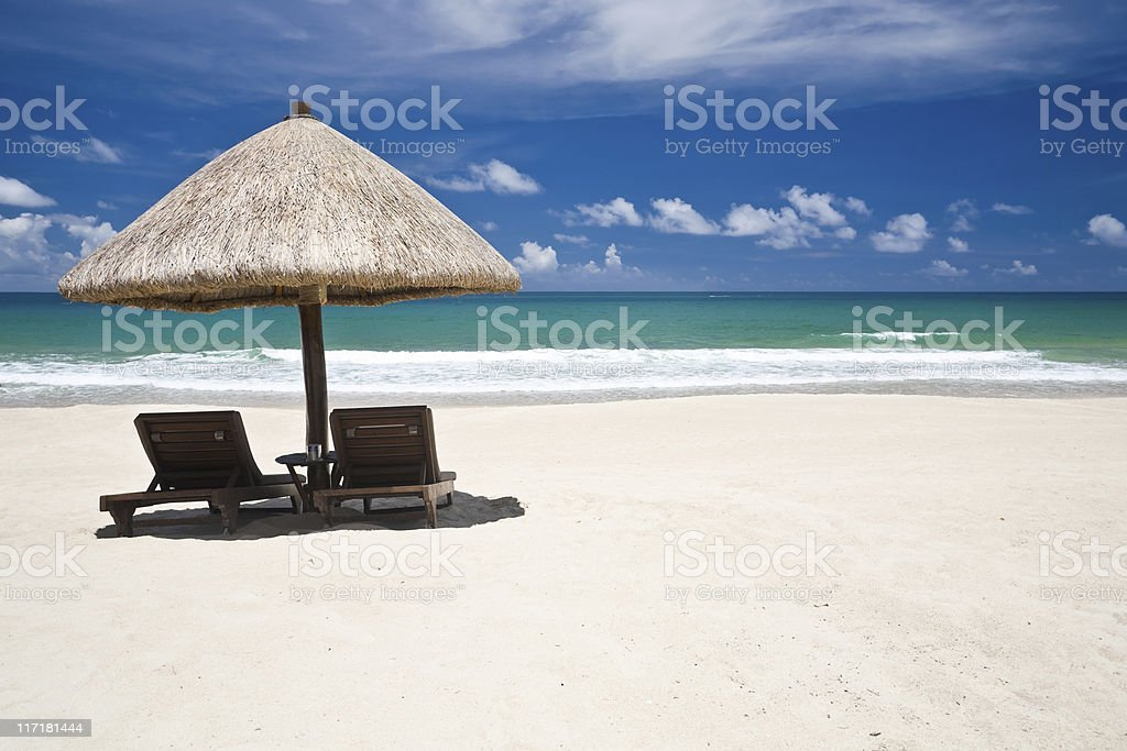 Beach of Sanya, Hainan royalty-free stock photo