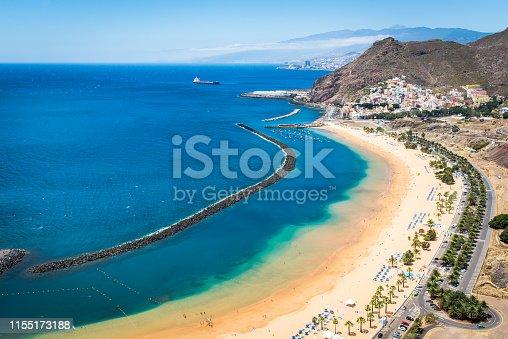 istock Beach of the Teresitas beach 1155173188
