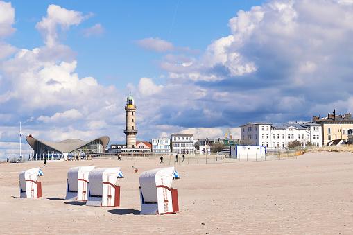 Beach of Warnemunde