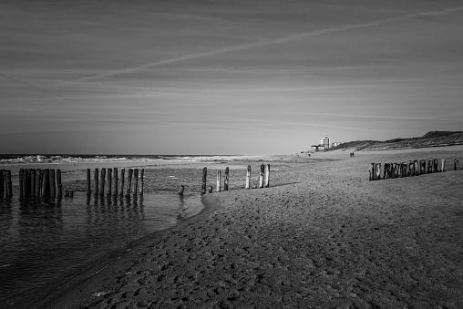 Beach of Westerland on Northsea island Sylt