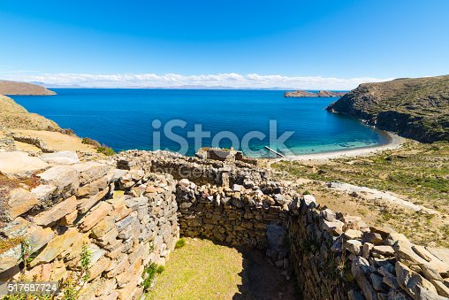 istock Beach on Island of the Sun, Titicaca Lake, Bolivia 517687724