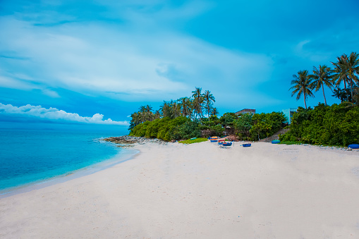 Beach On Small Island In Ly Son Quang Ngai Vietnam Stock Photo Download Image Now Istock
