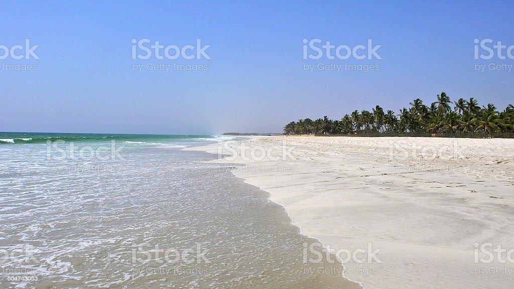 Strand außerhalb von Salalah – Foto