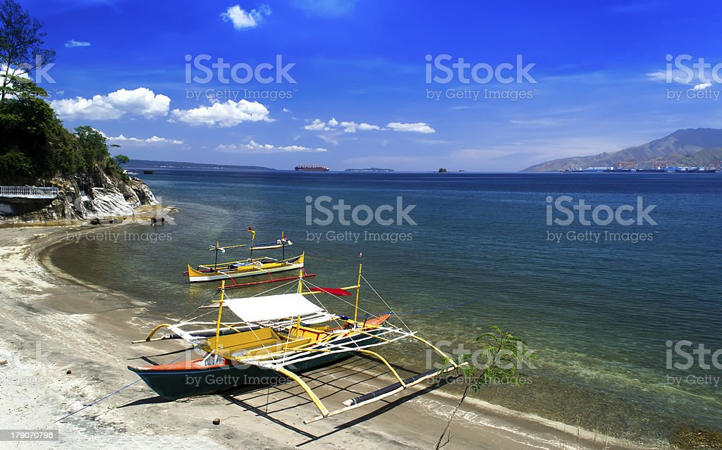 Beach Panorama. royalty-free stock photo