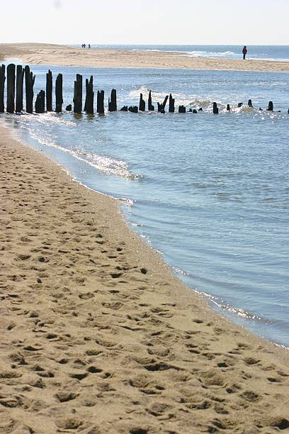 strand-panorama - herpens stock-fotos und bilder