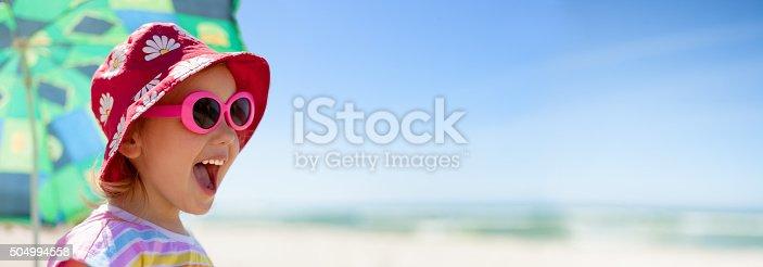 istock beach panoramic child happy summer vacations 504994558