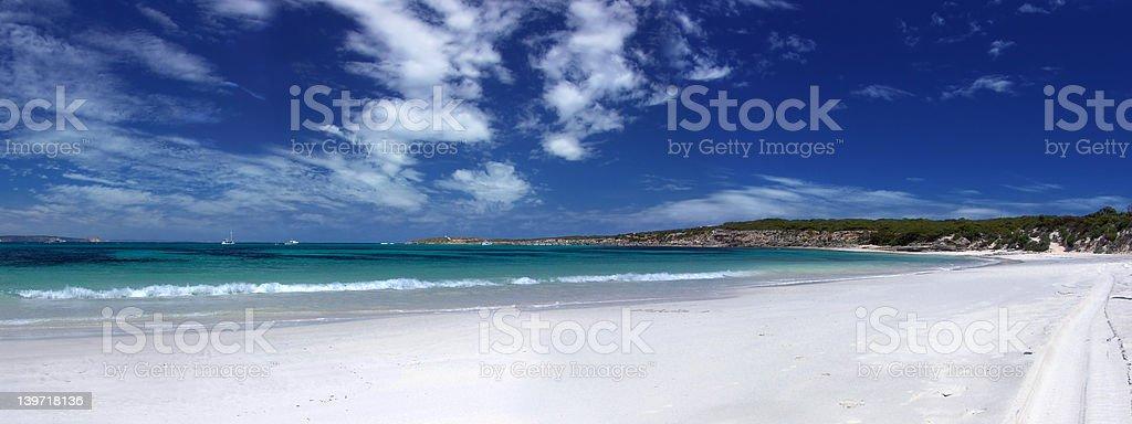 Beach Panoramic stock photo