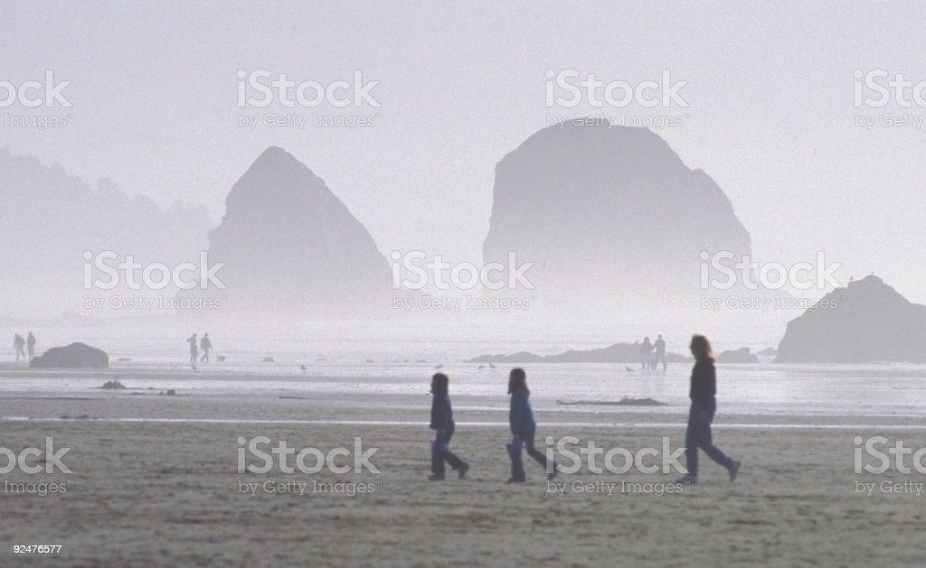 Beach Parade royalty-free stock photo